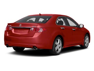 Milano Red 2012 Acura TSX Pictures TSX Sedan 4D SE photos rear view