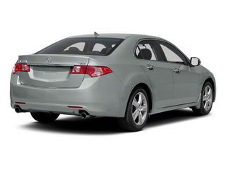 Silver Moon Metallic 2012 Acura TSX Pictures TSX Sedan 4D photos rear view