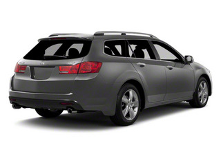 Graphite Luster Metallic 2012 Acura TSX Sport Wagon Pictures TSX Sport Wagon Wagon 4D Technology photos rear view