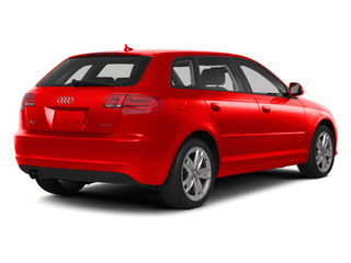 Brilliant Red 2012 Audi A3 Pictures A3 Hatchback 4D TDI photos rear view