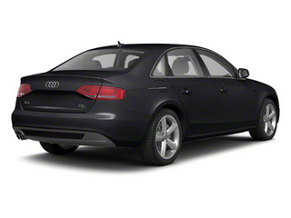 Brilliant Black 2012 Audi A4 Pictures A4 Sedan 4D 2.0T Quattro Prestige photos rear view