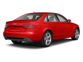 Brilliant Red 2012 Audi A4 Pictures A4 Sedan 4D 2.0T Quattro Prestige photos rear view