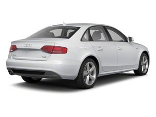 Ice Silver Metallic 2012 Audi A4 Pictures A4 Sedan 4D 2.0T Quattro Prestige photos rear view