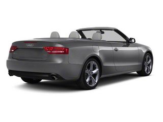 Monsoon Gray Metallic 2012 Audi A5 Pictures A5 Convertible 2D Premium Plus photos rear view