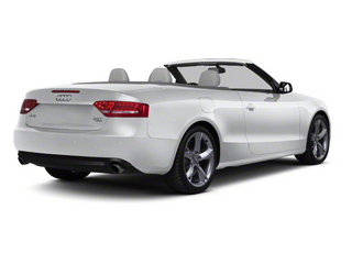 Ice Silver Metallic 2012 Audi A5 Pictures A5 Convertible 2D Premium Plus photos rear view