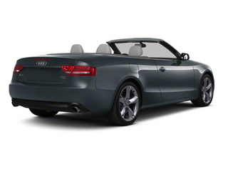 Moonlight Blue Metallic 2012 Audi A5 Pictures A5 Convertible 2D Premium Plus photos rear view