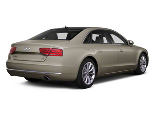 Savana Beige Pearl 2012 Audi A8 L Pictures A8 L Sedan 4D 4.2 Quattro L photos rear view