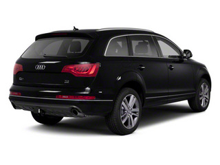 Orca Black Metallic 2012 Audi Q7 Pictures Q7 Utility 4D 3.0 TDI Prestige S-Line A photos rear view