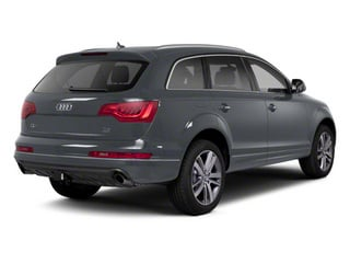 Graphite Gray Metallic 2012 Audi Q7 Pictures Q7 Utility 4D 3.0 TDI Prestige S-Line A photos rear view