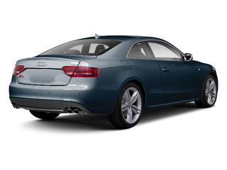 Moonlight Blue Metallic 2012 Audi S5 Pictures S5 Coupe 2D Quattro photos rear view