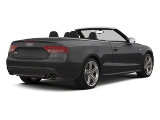 Monsoon Gray Metallic 2012 Audi S5 Pictures S5 Convertible 2D Quattro photos rear view