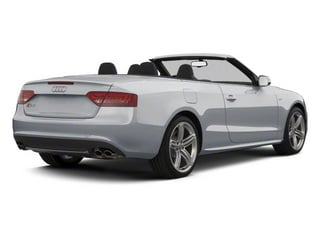 Ice Silver Metallic 2012 Audi S5 Pictures S5 Convertible 2D Quattro photos rear view