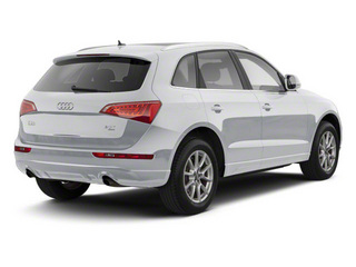 Ice Silver Metallic 2012 Audi Q5 Pictures Q5 Utility 4D 2.0T Premium Plus AWD photos rear view