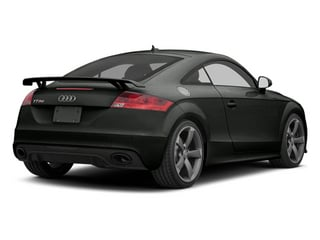 Daytona Gray Pearl 2012 Audi TT RS Pictures TT RS Coupe 2D Quattro photos rear view