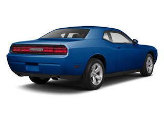 Blue Streak Pearl 2012 Dodge Challenger Pictures Challenger Coupe 2D R/T photos rear view
