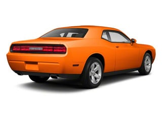 Header Orange 2012 Dodge Challenger Pictures Challenger Coupe 2D R/T photos rear view