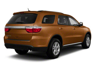 Canyon Brown Pearl 2012 Dodge Durango Pictures Durango Utility 4D Crew AWD photos rear view