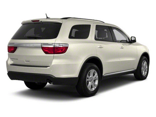 White Gold 2012 Dodge Durango Pictures Durango Utility 4D Crew AWD photos rear view