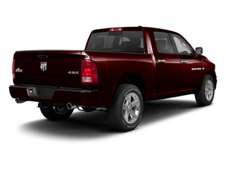Deep Molten Red Pearl 2012 Ram Truck 1500 Pictures 1500 Crew Cab SLT 2WD photos rear view