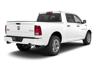 Bright White 2012 Ram Truck 1500 Pictures 1500 Crew Cab Outdoorsman 2WD photos rear view