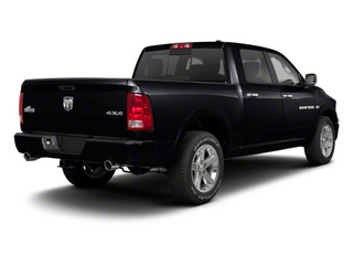 Black 2012 Ram Truck 1500 Pictures 1500 Crew Cab Tradesman 2WD photos rear view