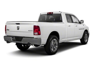 Bright White 2012 Ram Truck 1500 Pictures 1500 Quad Cab Express 2WD photos rear view
