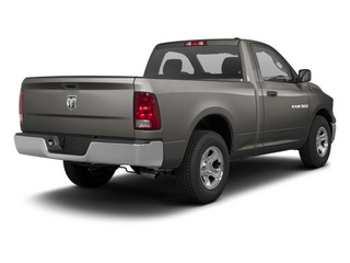 Mineral Gray Metallic 2012 Ram Truck 1500 Pictures 1500 Regular Cab ST 4WD photos rear view