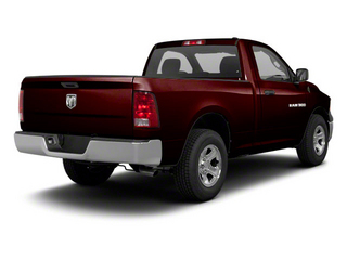 Deep Molten Red Pearl 2012 Ram Truck 1500 Pictures 1500 Regular Cab ST 4WD photos rear view