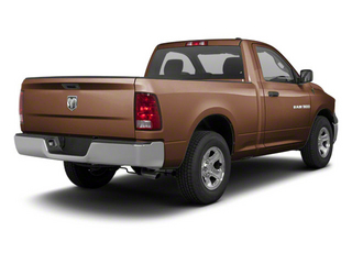 Saddle Brown Pearl 2012 Ram Truck 1500 Pictures 1500 Regular Cab ST 4WD photos rear view