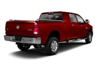 Flame Red 2012 Ram Truck 2500 Pictures 2500 Mega Cab Outdoorsman 4WD photos rear view