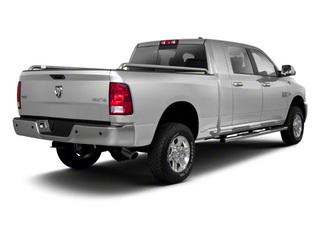 Bright Silver Metallic 2012 Ram Truck 2500 Pictures 2500 Mega Cab Outdoorsman 4WD photos rear view