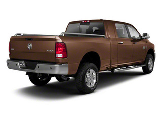 Saddle Brown Pearl 2012 Ram Truck 2500 Pictures 2500 Mega Cab Laramie 2WD photos rear view