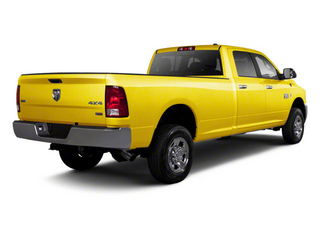 Yellow 2012 Ram Truck 2500 Pictures 2500 Crew Cab ST 4WD photos rear view