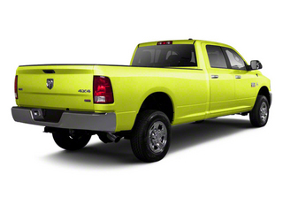 National Fire Safety Lime Yellow 2012 Ram Truck 2500 Pictures 2500 Crew Cab ST 4WD photos rear view