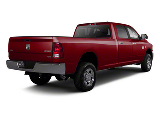 Deep Cherry Red Crystal Pearl 2012 Ram Truck 2500 Pictures 2500 Crew Cab ST 4WD photos rear view