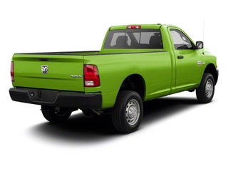 Hills Green 2012 Ram Truck 2500 Pictures 2500 Regular Cab SLT 4WD photos rear view
