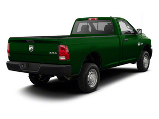 D T Green 2012 Ram Truck 2500 Pictures 2500 Regular Cab SLT 4WD photos rear view