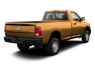 Case Power Tan 2012 Ram Truck 2500 Pictures 2500 Regular Cab Outdoorsman 4WD photos rear view
