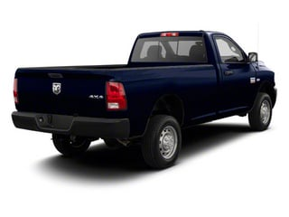 Midnight Blue Pearl 2012 Ram Truck 2500 Pictures 2500 Regular Cab SLT 4WD photos rear view