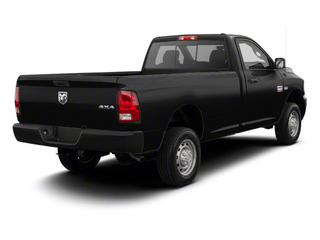 Mineral Gray Metallic 2012 Ram Truck 2500 Pictures 2500 Regular Cab Outdoorsman 4WD photos rear view