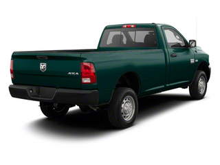 Timberline Green Pearl 2012 Ram Truck 2500 Pictures 2500 Regular Cab SLT 4WD photos rear view