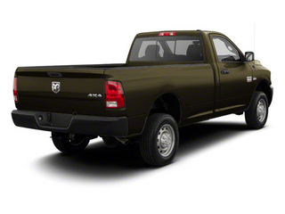 Sagebrush Pearl 2012 Ram Truck 2500 Pictures 2500 Regular Cab SLT 4WD photos rear view