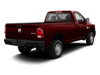 Deep Molten Red Pearl 2012 Ram Truck 2500 Pictures 2500 Regular Cab Outdoorsman 4WD photos rear view