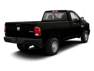 Black 2012 Ram Truck 2500 Pictures 2500 Regular Cab SLT 4WD photos rear view