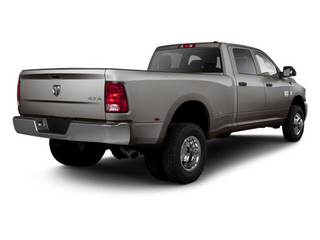 Mineral Gray Metallic 2012 Ram Truck 3500 Pictures 3500 Crew Cab Laramie 2WD photos rear view