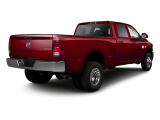 Deep Cherry Red Crystal Pearl 2012 Ram Truck 3500 Pictures 3500 Crew Cab Laramie 2WD photos rear view