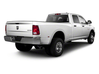 Bright Silver Metallic 2012 Ram Truck 3500 Pictures 3500 Crew Cab Laramie 2WD photos rear view