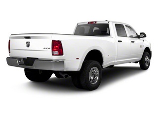 Bright White 2012 Ram Truck 3500 Pictures 3500 Crew Cab Laramie 2WD photos rear view