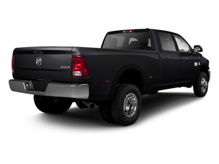 Black 2012 Ram Truck 3500 Pictures 3500 Crew Cab Laramie 2WD photos rear view
