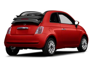Rosso Brillante (Red Tri-Coat) 2012 FIAT 500 Pictures 500 Convertible 2D Lounge photos rear view